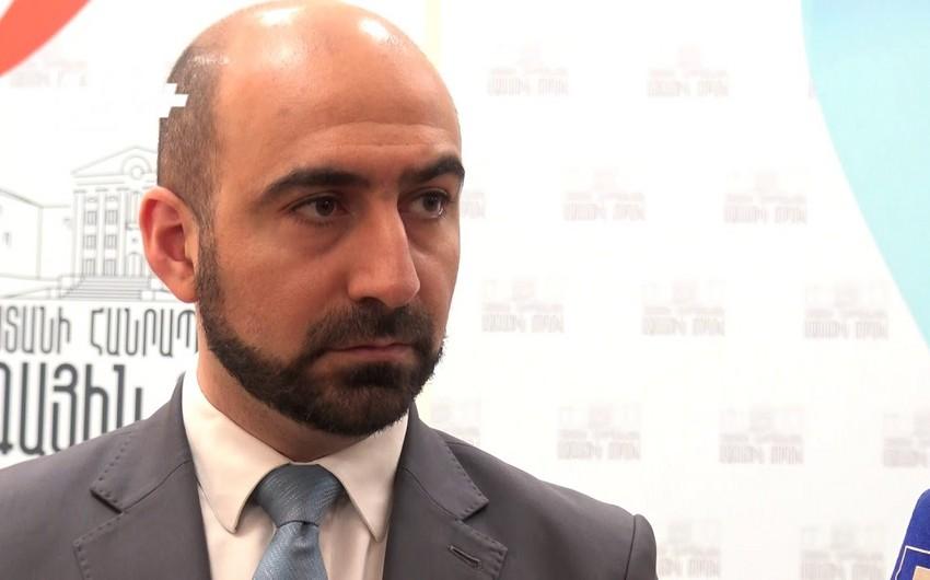 Ermənistanda dövlət komitəsinin sədri istefa verib