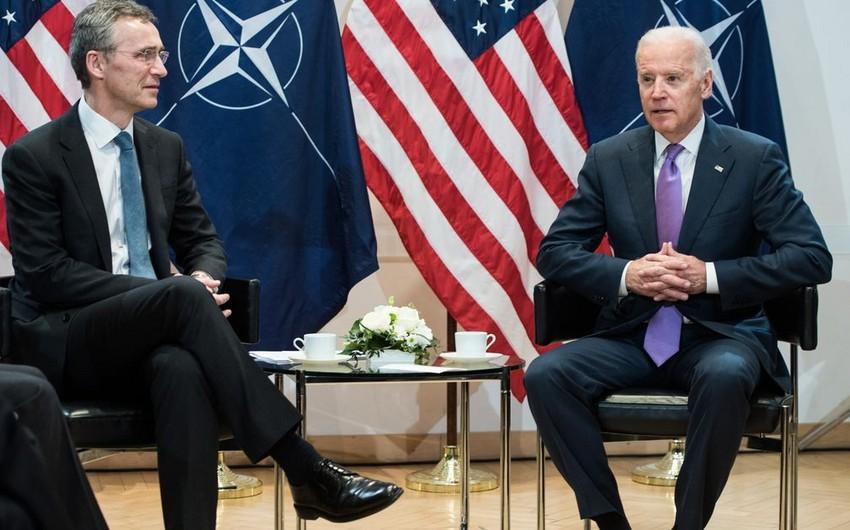 Bayden NATO rəhbəri ilə Rusiya, İraq və Əfqanıstan məsələlərini müzakirə edib