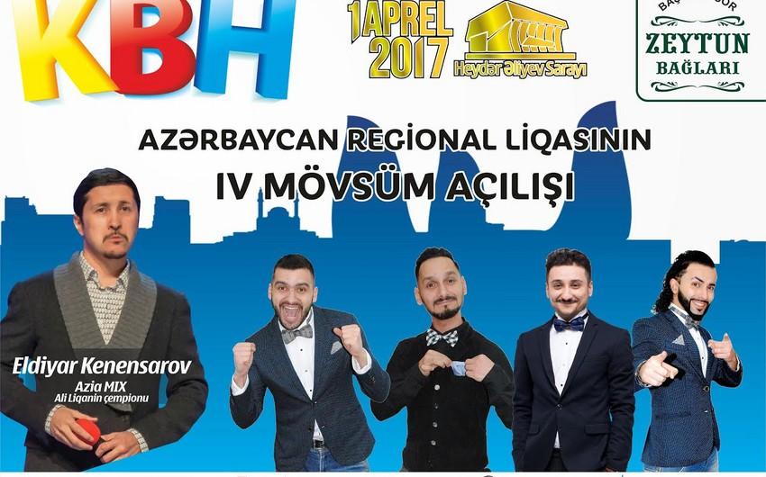 Heydər Əliyev Sarayında Azərbaycan, Rusiya, Qazaxıstanın KVN komandaları çıxış edəcək
