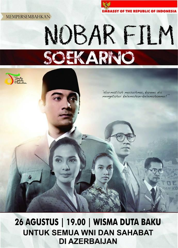 Film about founder of modern Indonesia will be shown in Baku