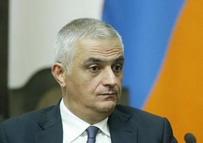 Armenian deputy prime minister supports delimitation of border with Azerbaijan