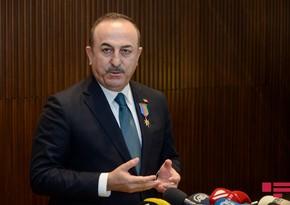 """Mövlud Çavuşoğlu: """"Ermənistan ağlını başına yığsın"""""""