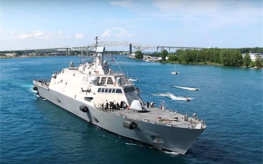 В США ввели в строй новый корабль ВМС