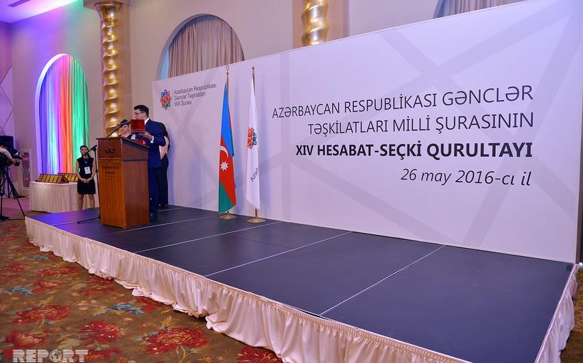 Azərbaycan Gənclər Təşkilatları Milli Şurasına yeni sədr seçilib