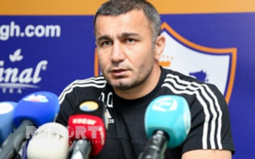 Qurban Qurbanov: Futbolçulardan razı qaldım