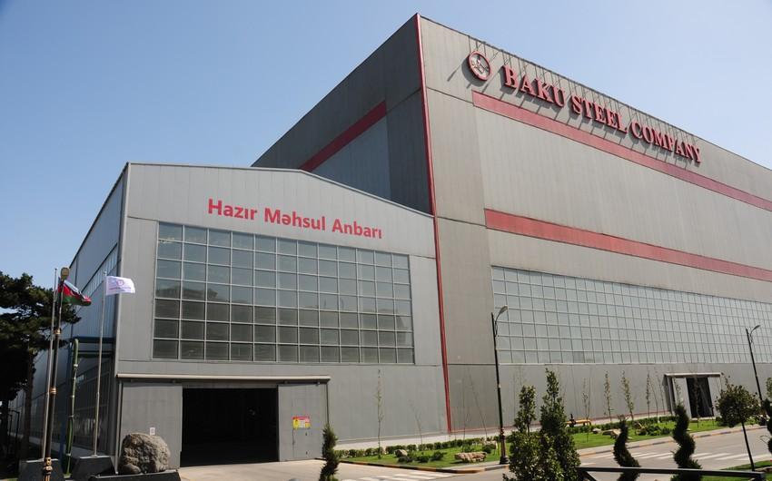 """Baku Steel Company"" Bakı Metropoliteninə armatur satacaq"