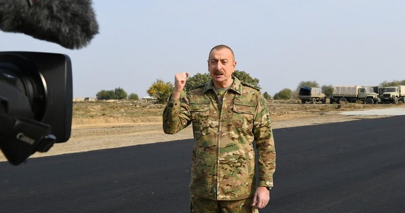 Президент Ильхам Алиев: Кочарян и Саргсян, мы разгромили вашу армию!