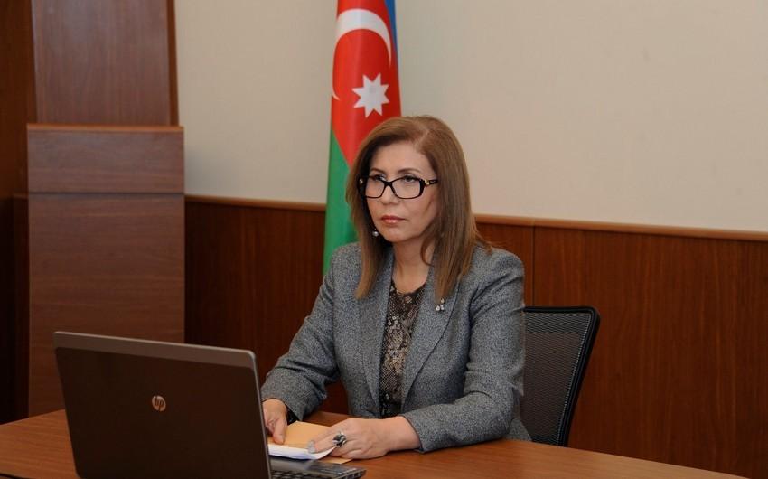 Bahar Muradova İordaniya səfiri ilə görüşüb