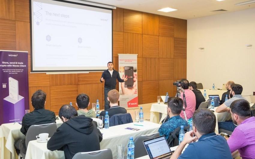 Bakıda AppLab iştirakçıları üçün blokçeyn texnologiyalarına həsr olunmuş seminar keçirilib