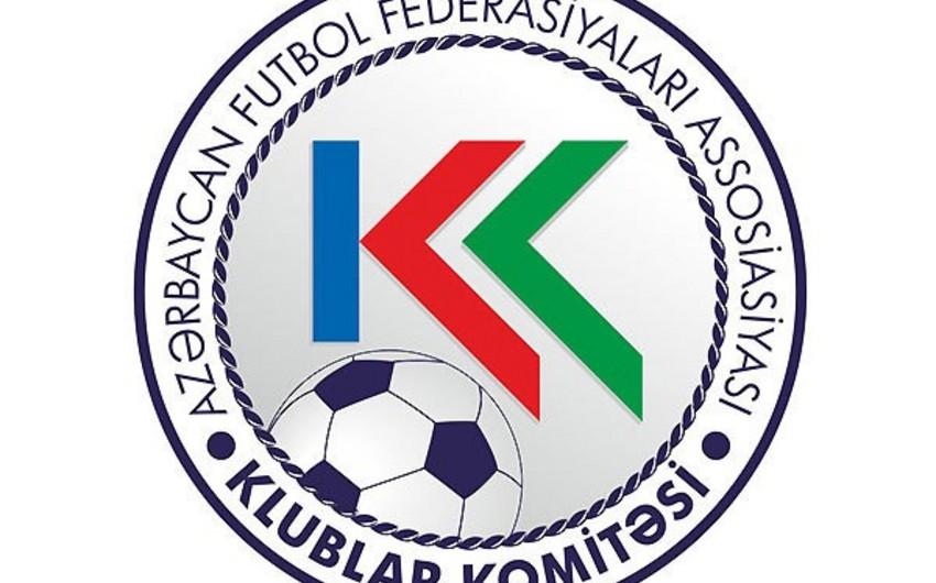 AFFA Klublar Komitəsinin iclası keçiriləcək