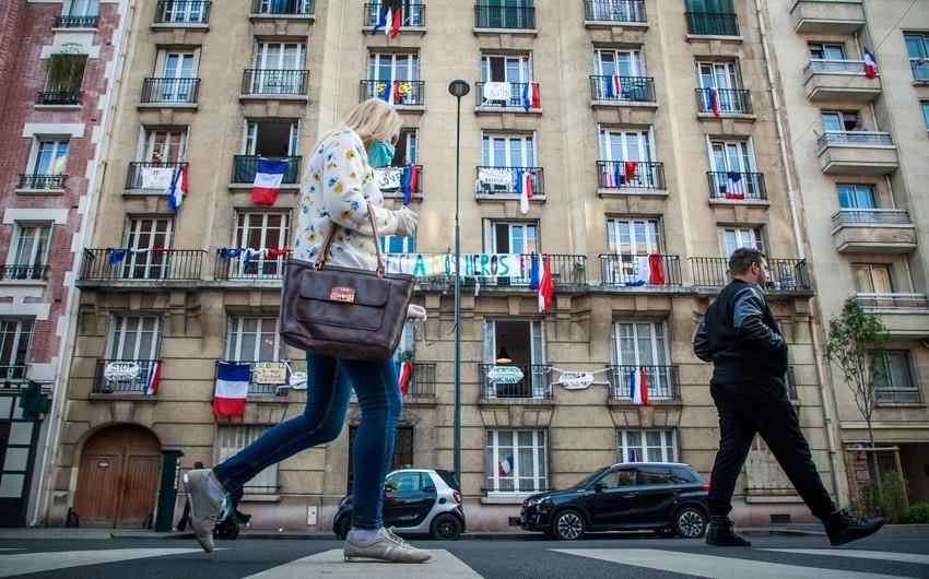 Fransada koronavirusa gündəlik yoluxma sayı artır
