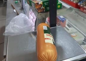 Lənkəranda marketdə istehlak üçün yararsız qida məhsulları aşkar edilib