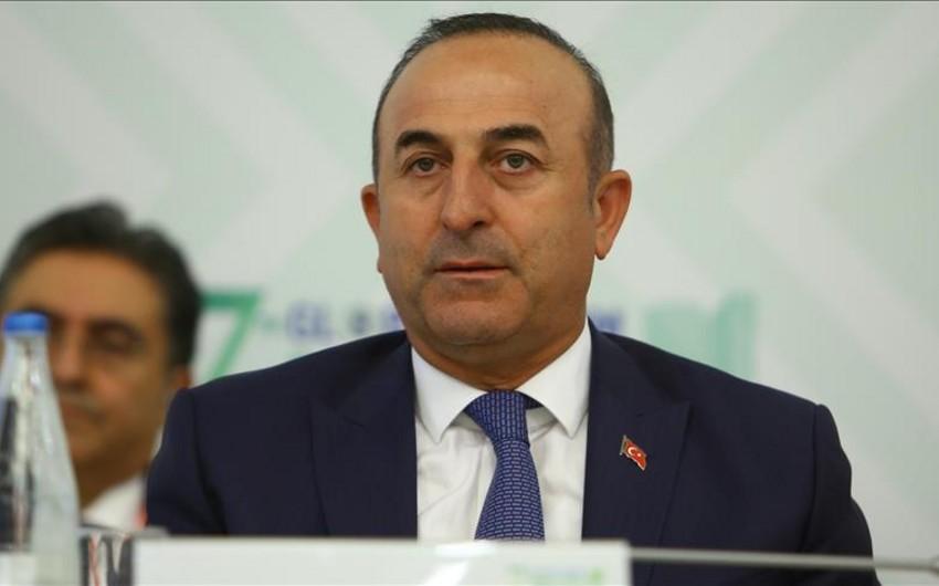 Çavuşoğlu: Dağlıq Qarabağ problemi bizim xüsusi diqqətimizi tələb edir
