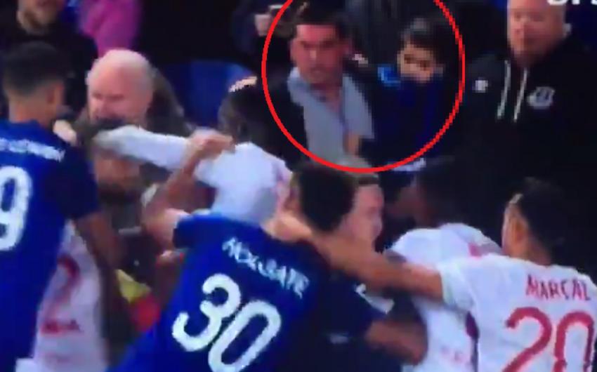 Avropa Liqası matçında futbolçular arasında dava düşüb
