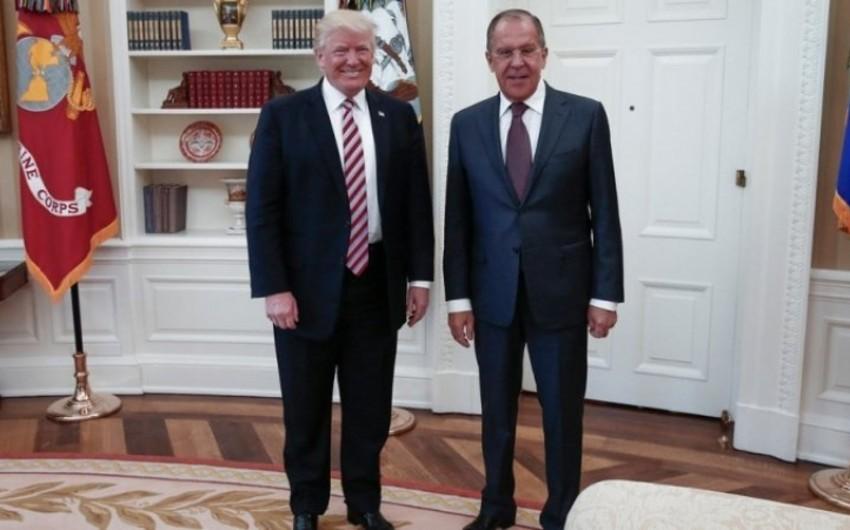 Lavrov: Tramp Rusiyaya səfər təklifini nəzərdən keçirir