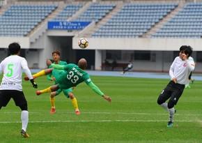 Qarabağın sabiq futbolçusu Çin klubunun tarixinə düşdü