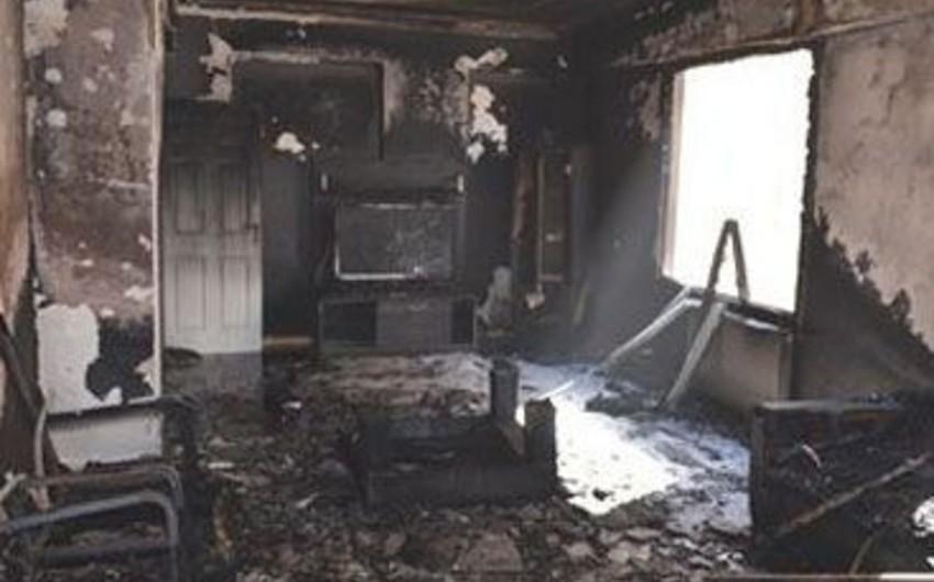 Abşeronda yaşayış evində partlayış olub, bir nəfər yaralanıb