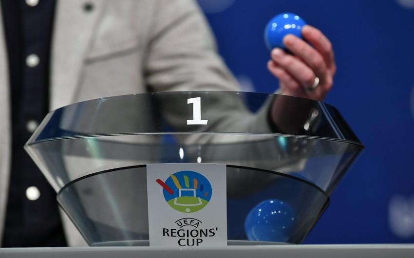 Azərbaycan komandasının UEFA Regionlar Kubokunda potensial rəqibləri müəyyənləşib