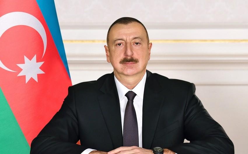 Prezident İlham Əliyev Balakəndə səfərdədir