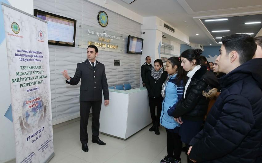 DMX-nın 10 illiyi münasibətilə məktəblilərin ekskursiyası təşkil edilib