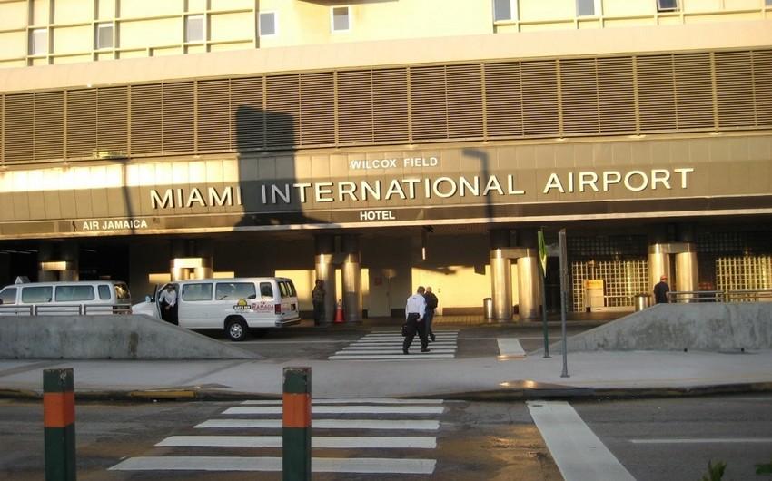 Mayami hava limanında atışma baş verib