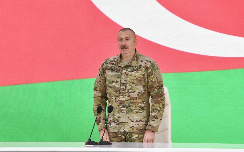 Prezident: Sarkisyan acı məğlubiyyətdən sonra mənə torpaqları qaytarmaq sözü vermişdi