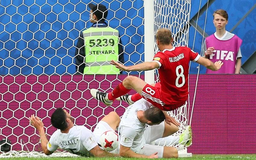 Россия стартовала на Кубке конфедераций с победы над Новой Зеландией - ВИДЕО