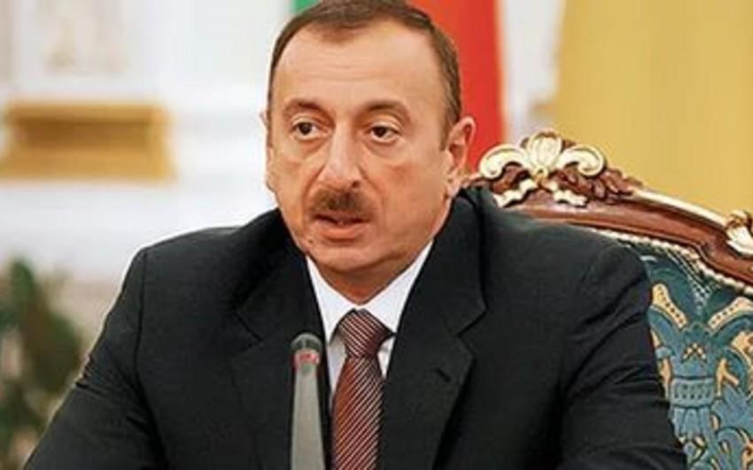 """İlham Əliyev: """"Azərbaycan Ordusu Ermənistanın hücumunun qarşısını alıb, qarşı tərəfə lazımi cavab verilib"""""""