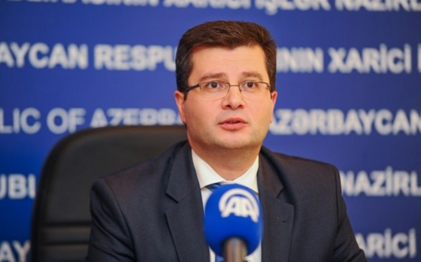 Azərbaycan XİN-in sözçüsü Elman Abdullayev Efiopiyaya səfir təyin edilib