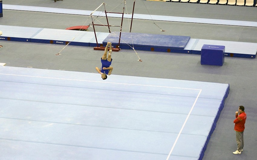 Avropa çempionatında iştirak edəcək gimnastlarımız -