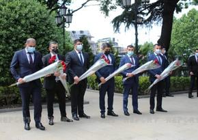 Азербайджанская делегация находится с визитом в Грузии - ОБНОВЛЕНО