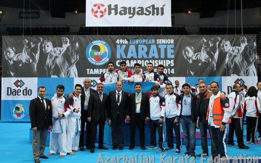 Azərbaycanın karate üzrə milli komandası Avropa çempionatında iştirak edəcək