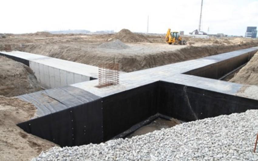 Sumqayıt Kimya Sənaye Parkında yeraltı infrastruktur şəbəkəsinin tikintisi yekunlaşıb