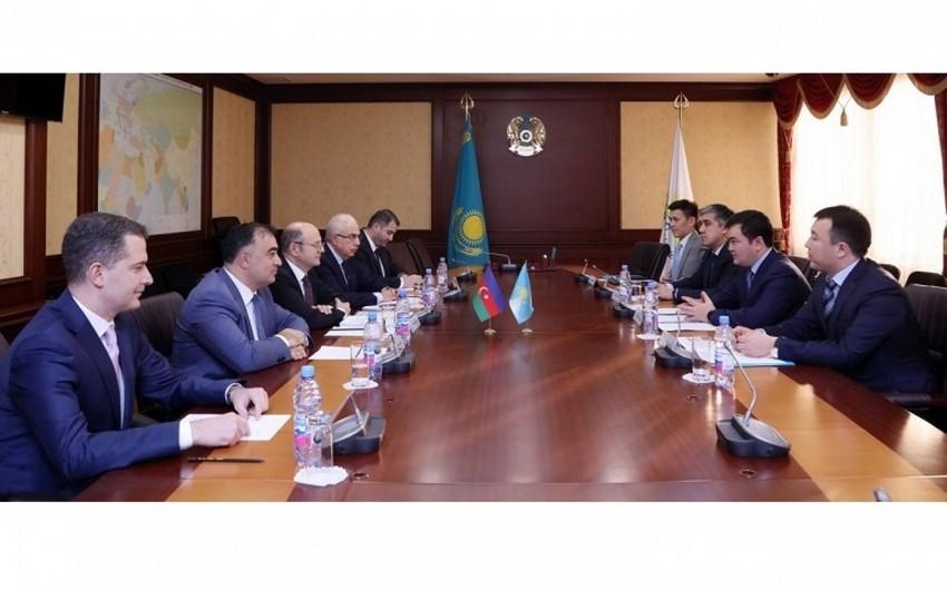 Azərbaycanın energetika naziri Qazaxıstanın investisiyalar və inkişaf naziri ilə görüşüb