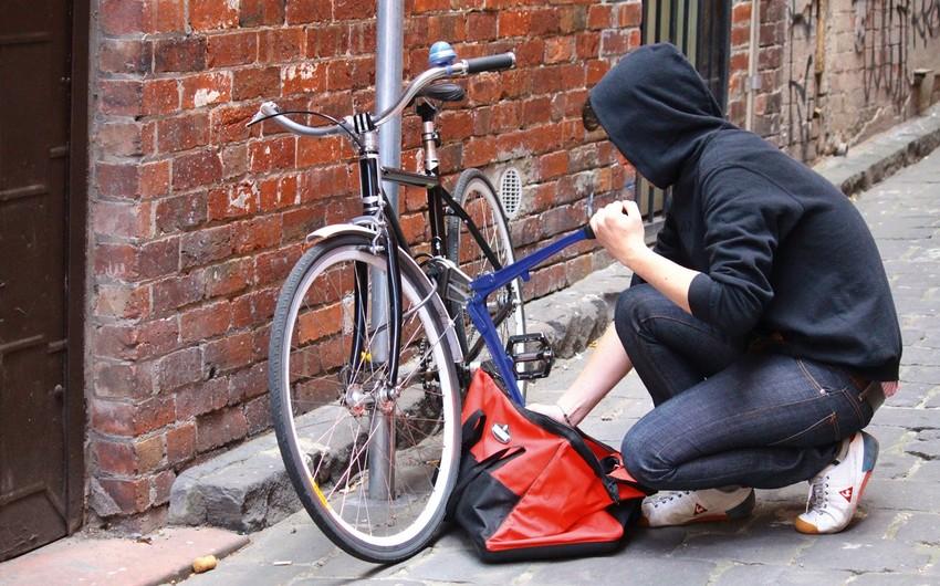 Hacıqabulda velosiped oğrusu saxlanıldı