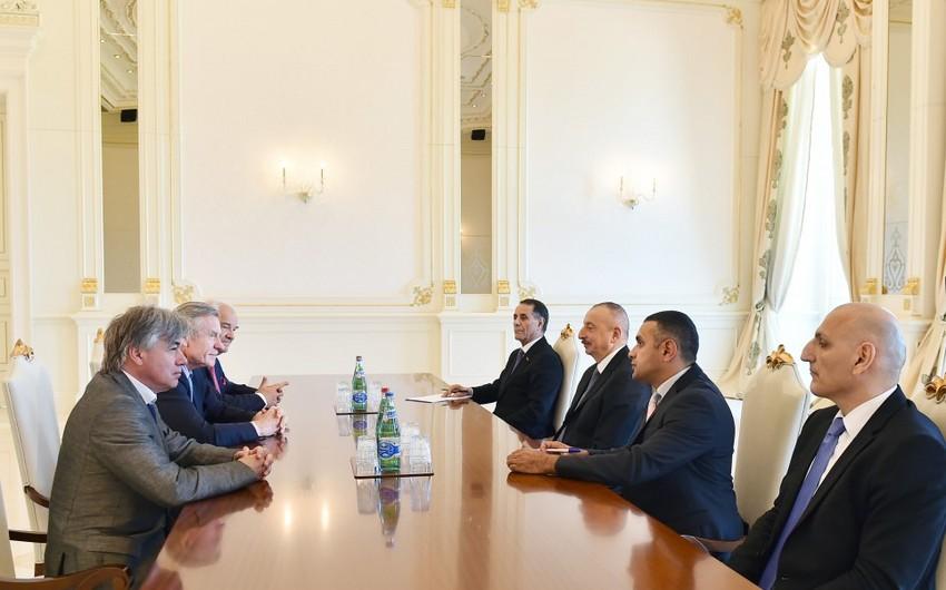 Prezident İlham Əliyev Fransada Azərbaycanın Dostları Assosiasiyasının prezidentini qəbul edib - YENİLƏNİB