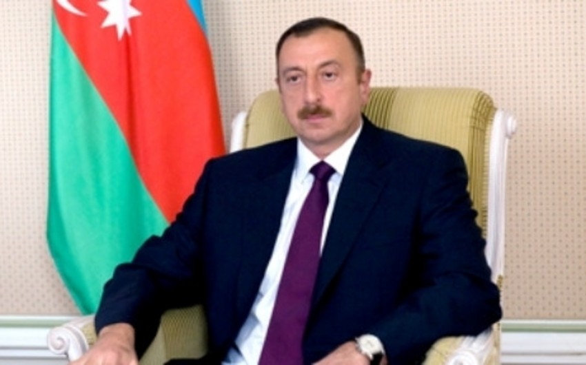 Президент Ильхам Алиев принял участие в открытии нового здания средней школы №23 в Баку