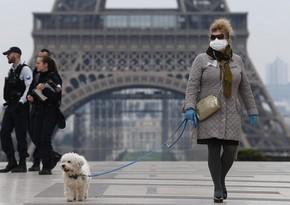 Fransada pandemiyanın dördüncü dalğası ölkənin bütün regionlarını əhatə edib