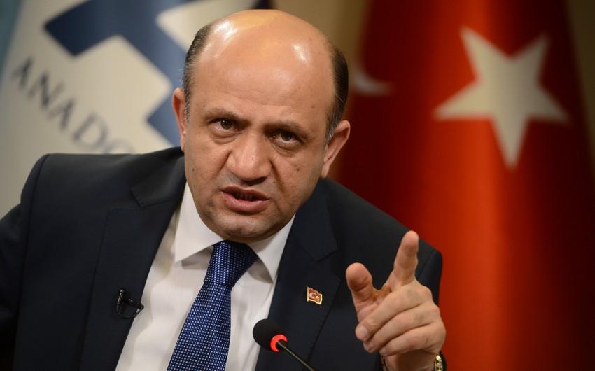 """Türkiyənin müdafiə naziri: """"İki ildə 7 min 91 terrorçu məhv etmişik"""""""