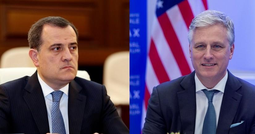 Джейхун Байрамов встретился с советником Трампа