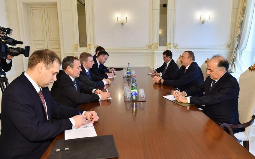 Prezident İlham Əliyev Latviyanın xarici işlər nazirini qəbul edib - ƏLAVƏ OLUNUB