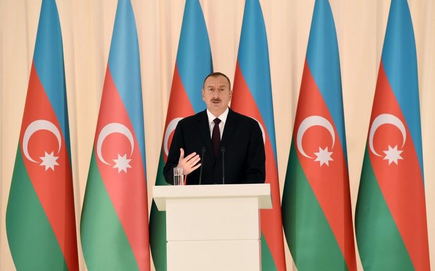 """Prezident İlham Əliyev: """"Azərbaycan bütün dünyaya sübut edib ki, müstəqil həyatı uğurla yaşaya bilər"""""""