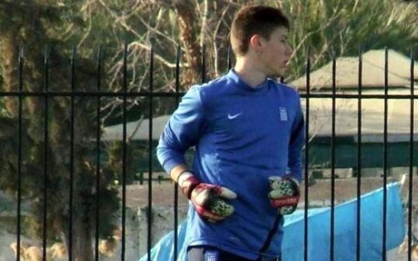 Yunanıstanda futbol klubunun qapıçısı məşq zamanı keçinib