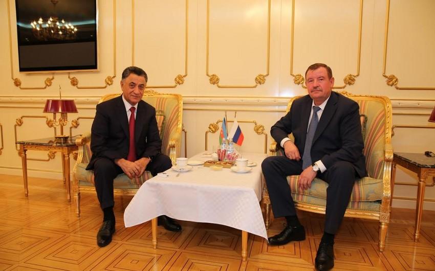 Ramil Usubov Rusiya DİN-in nümayəndələri ilə görüşüb