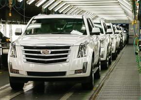 """""""General Motors"""" çip çatışmazlığına görə istehsalı dayandırır"""