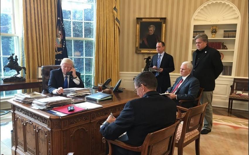 Trampla Putin arasında telefon danışığı başa çatıb - YENİLƏNİB - FOTO