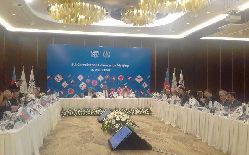 lV İslam Həmrəyliyi Oyunlarının Koordinasiya Komisiyasının V İclası keçirilib