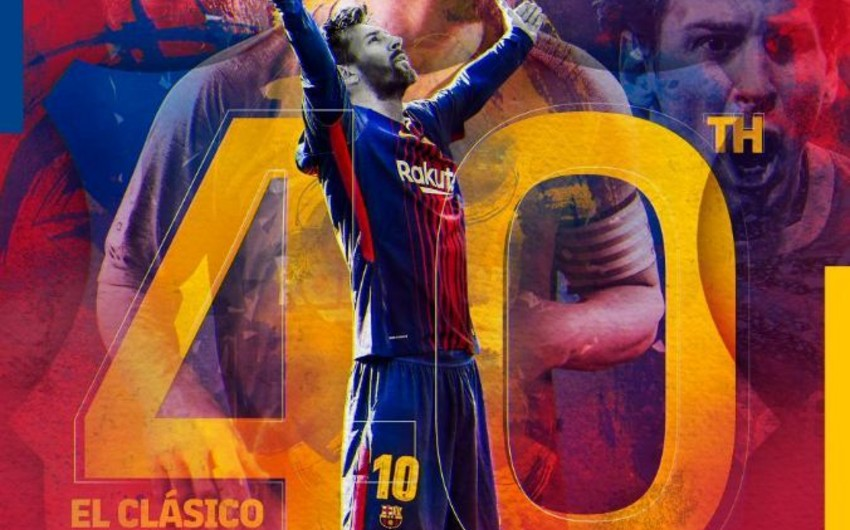 Messi 40-cı dəfə El-Klasikoda iştirak edəcək