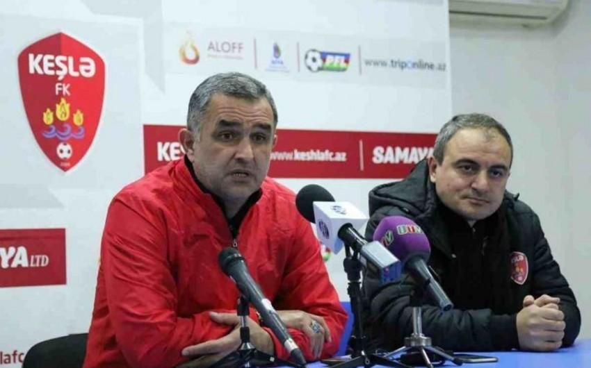 """""""Keşlə""""nin baş məşqçisi: Biz futbolçuları sözlə motivasiya edirik"""