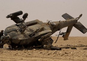 Military helicopter crashes in Afghanistan leaving three dead